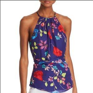 Parker Tops - Parker  Jill sleeveless keyhole floral top